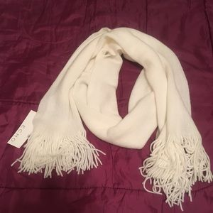 NWT - Echo Soft cold weather scarf - winter white